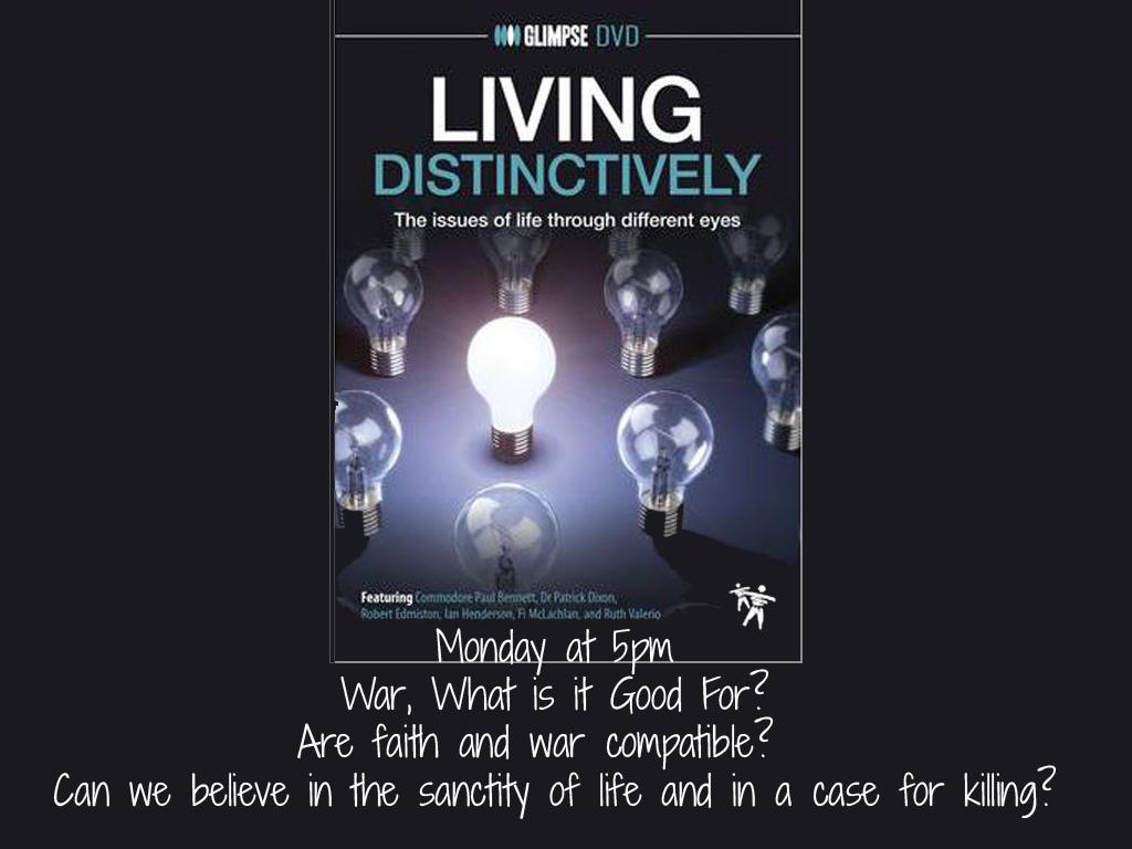 Living Distinctively